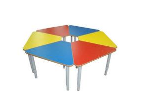 Стол 6-ти секционный «Ромашка» модульный
