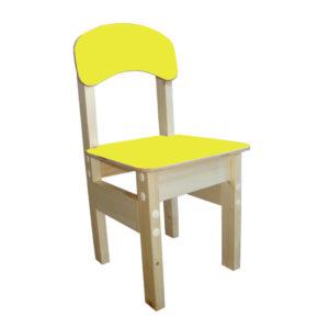Стул детский Гномик 1 спинка, сиденье крашенные