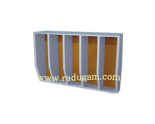 Шкаф для полотенец навесной 5-и местный 816*160*800 мм