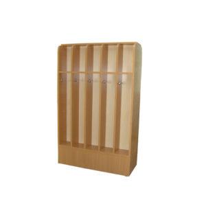 Шкаф для полотенец двухсторонний, 10ти мест, ЛДСП, 816*328*1106