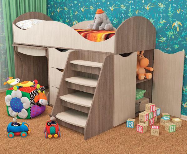 Кровать детская ТОШКА