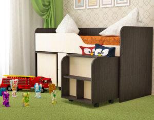 Кровать детская ГНОМИК