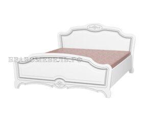 Кровать Белый жемчуг лак