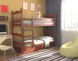 """Кровать """"Соня"""" орех"""