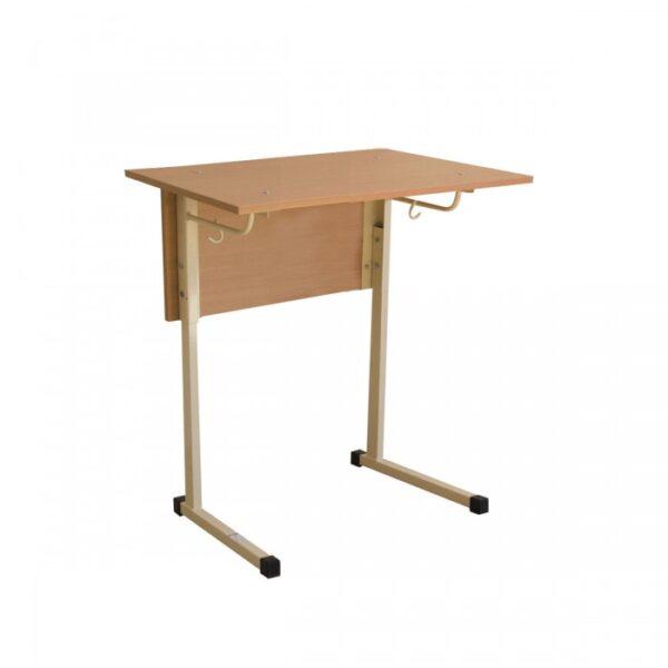 Стол ученический 1- местный, регулируемый по высоте №3-5, с наклоном столешницы