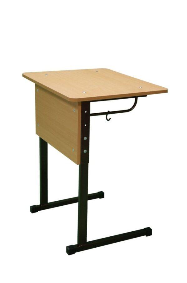 Стол ученический 1- местный, регулируемый по высоте №3-5, с закруглением углов