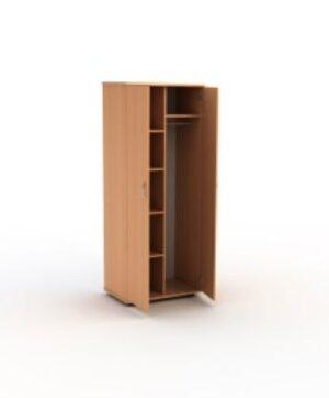Шкаф для одежды комбинированный  со штангой и полками