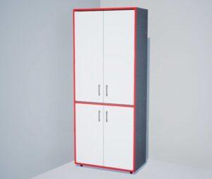 Шкаф 4-х дверый  закрытый