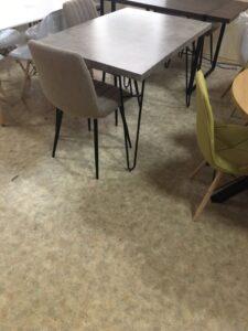 Стол DT340 МДФ серый бетон